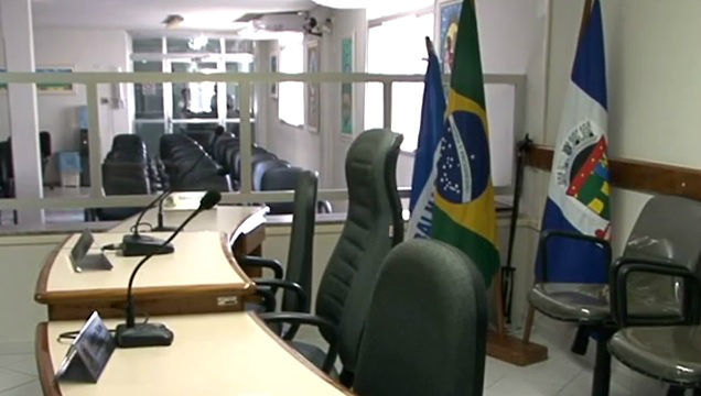 Plenário da Câmara de Linhares